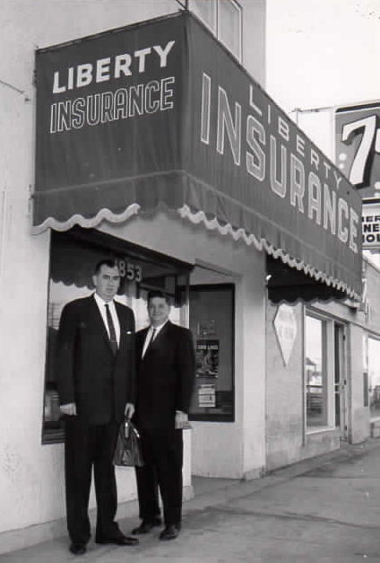 Liberty Insurance Agency in 1963